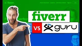 Fiverr vs Guru Review 🔥 Best Freelance Worker Sites in 2021 screenshot 5