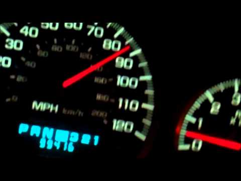 2004 Chevy Impala Speedometer Problems