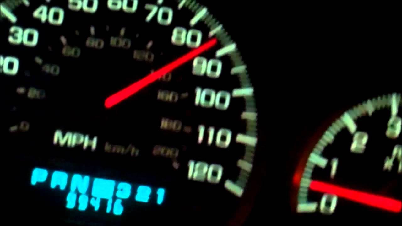 2004 chevy impala speedometer problems [ 1280 x 720 Pixel ]