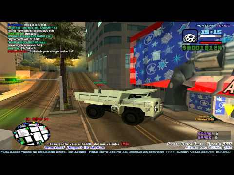 GTA San Andreas Multiplayer (04) Missões e Aventuras com o Olgado