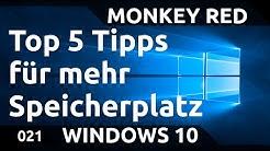 Windows 10: Top 5 Tipps um Speicher freizugeben