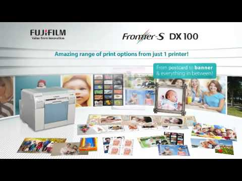 How To Load The Paper On The Frontier S Dx100 Printer