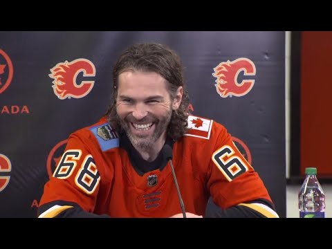 Jagr on Flames to help team, not to break any records