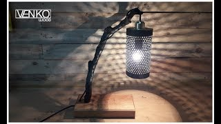 The lamp from the branch | Светильник из ветки