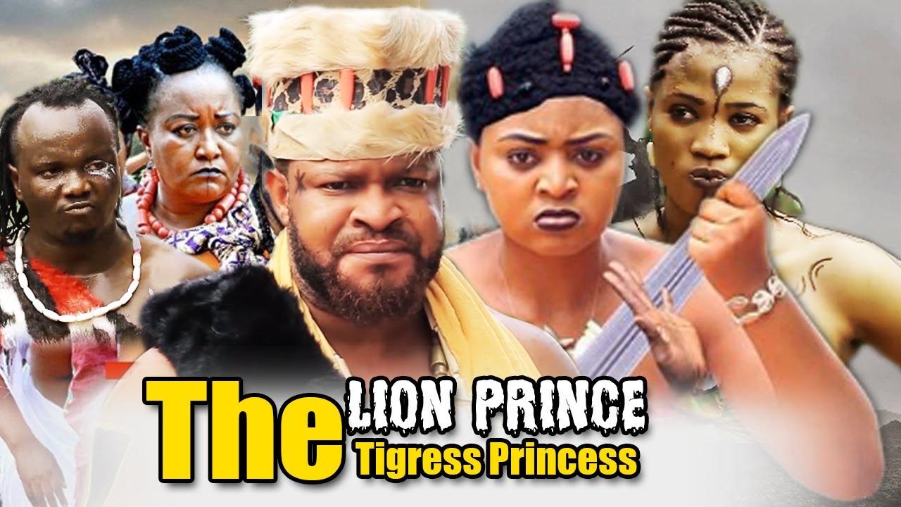 Download The Lion Prince & The Tigress Princess Part 3&4 - Diamond Okechi & Regina Daniels Nollywood Movies.