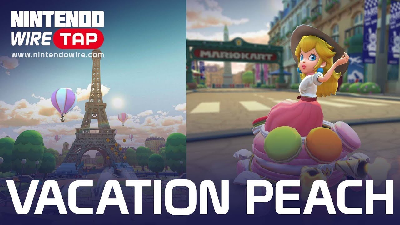 Vacation Peach Races Onto Mario Kart Tour Nintendo Wiretap