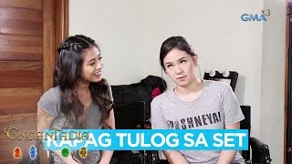 EXCLUSIVE: 'Encantadia' Sang'gres Gabbi Garcia and Mikee Quintos imitate each other