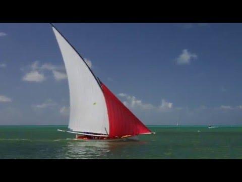 Regatta of Pirogues Mahebourg Mauritius