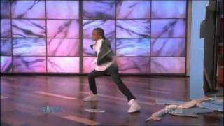 "Jaden Smith ""The Karate Kid"" Dancing on The Ellen Degeneres Show"