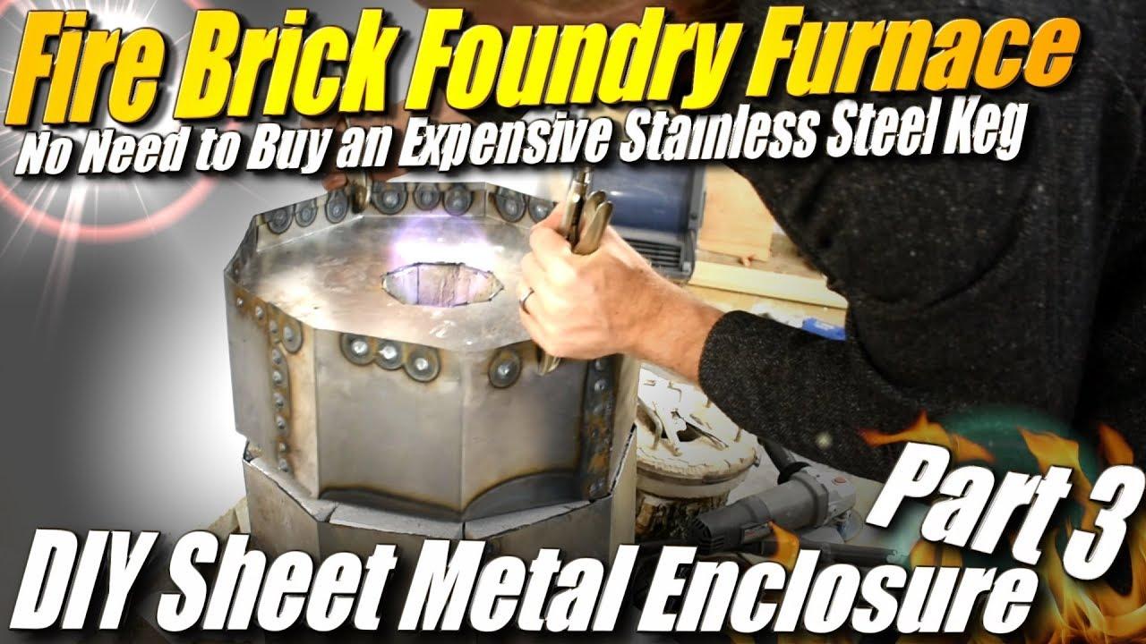 Fire Brick Foundry : How to make a fire brick foundry furnace part diy
