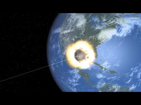 Universe Sandbox 2 - The Asteroid That Killed The Dinosaurs But It's Way Too Big