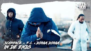 SCARFACE ft. DJAGA DJAGA & F.I. - IN DE ENDS  (PROD. PROBLEMCHILD)
