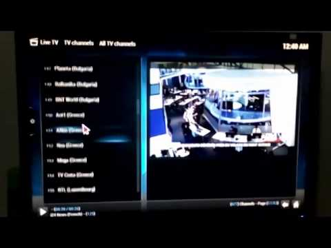 MIUC XBMC PVR Live Channel List