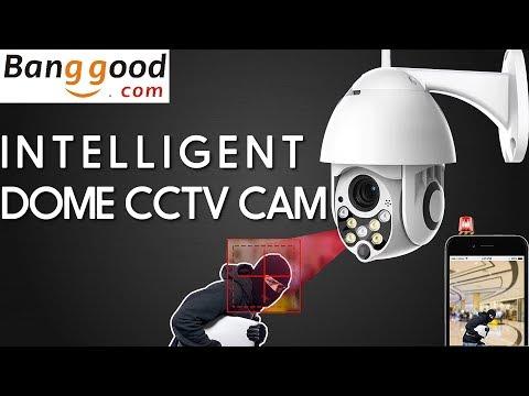 BANGGOOD.COM 1080P 2MP Wireless Waterproof WIFI IP Security Camera Urdu Hindi