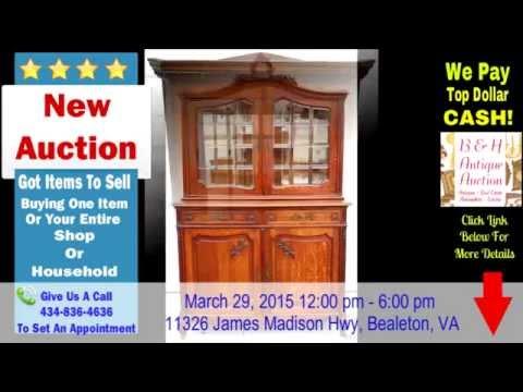 BH Antique Auctions Northern Va Auction