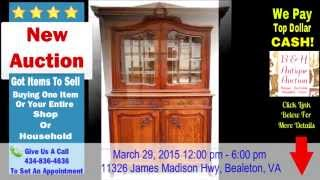 Bh Antique Auctions Northern Va Auction