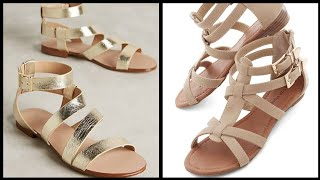 women flat Leather sandals and…