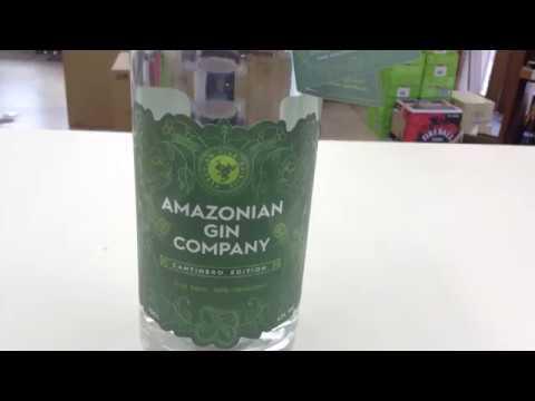 お酒通販 アマゾニアン カンパニー ジン アマゾンのボタニカルを使ったジン