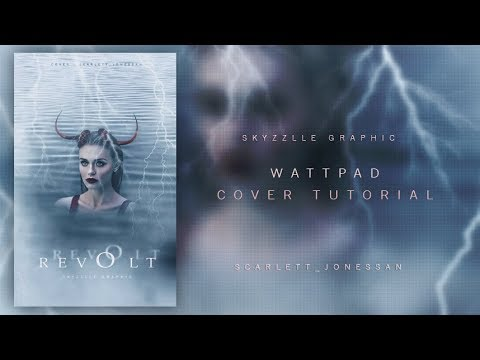 Wattpad cover tutorial | Skyzzlle graphic