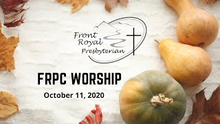 FRPC  October  11, 2020