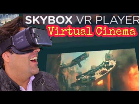 SkyBox VR Cinema | Virtual Cinema | Virtual Home Theater | Ishfaq Hameed
