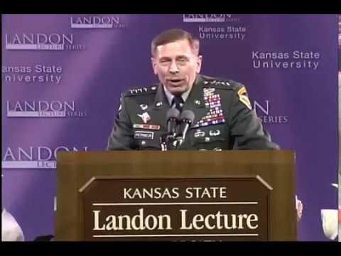 Landon Lecture | David Petraeus