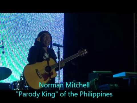 Norman Mitchell Parody Comedy King Funny Ilocos Joke in Manila Philippines