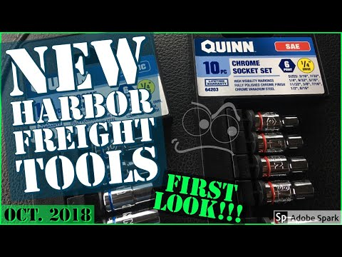 Harbor Freights NEW Quinn Sockets