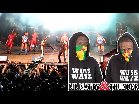 Lil Natty And Thunder Top Striker Grenada Soca Monarch Finals 2017 Full Performance HD | Reactions