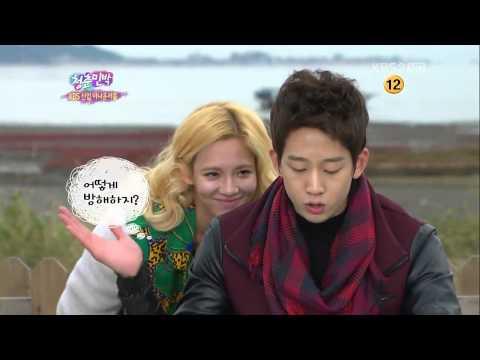 [IY2] Hyoyeon and her TV announcer crush, Cho Hangri :D