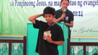 Awarding (campers Special Award) - Dfc Youth Camp 2014