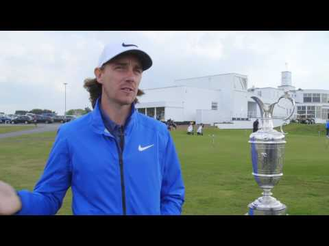 Tommy Fleetwood looks ahead to 146th Open Championship