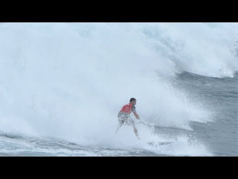 West Australian Swell - Big Waves Sup Surf (with Michael Lenane) The Free Fall Wave