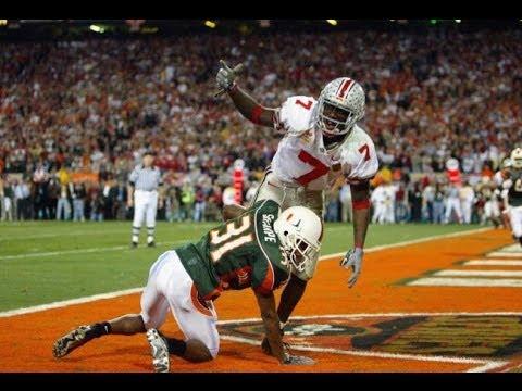 2003 Fiesta Bowl #2 Ohio State (13-0) vs #1 Miami (12-0)