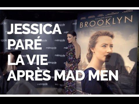 Jessica Paré : Dans le film Brooklyn  Tapis rose