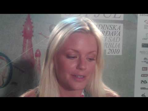 Ida Engberg Exit Festival 2010 Interview