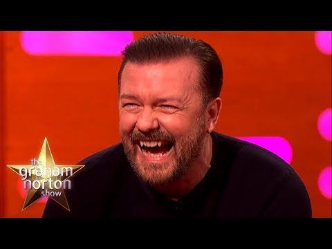 RICKY GERVAIS FUNNIEST MOMENTS on The Graham Norton Show