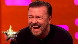 Download RICKY GERVAIS' FUNNIEST MOMENTS on The Graham Norton Show Mp3 and Videos