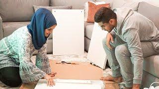 قربنا نكملو ديكور الشقة || Our apartment is coming together