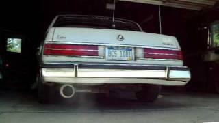 Buick Exhaust 1988 Buick Park Avenue
