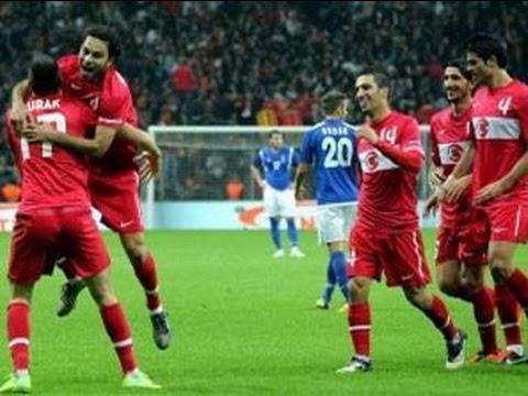 Türkiye Andorra 5-0 Geniş Özet (Süper Kalite) 06/09/2013 HD