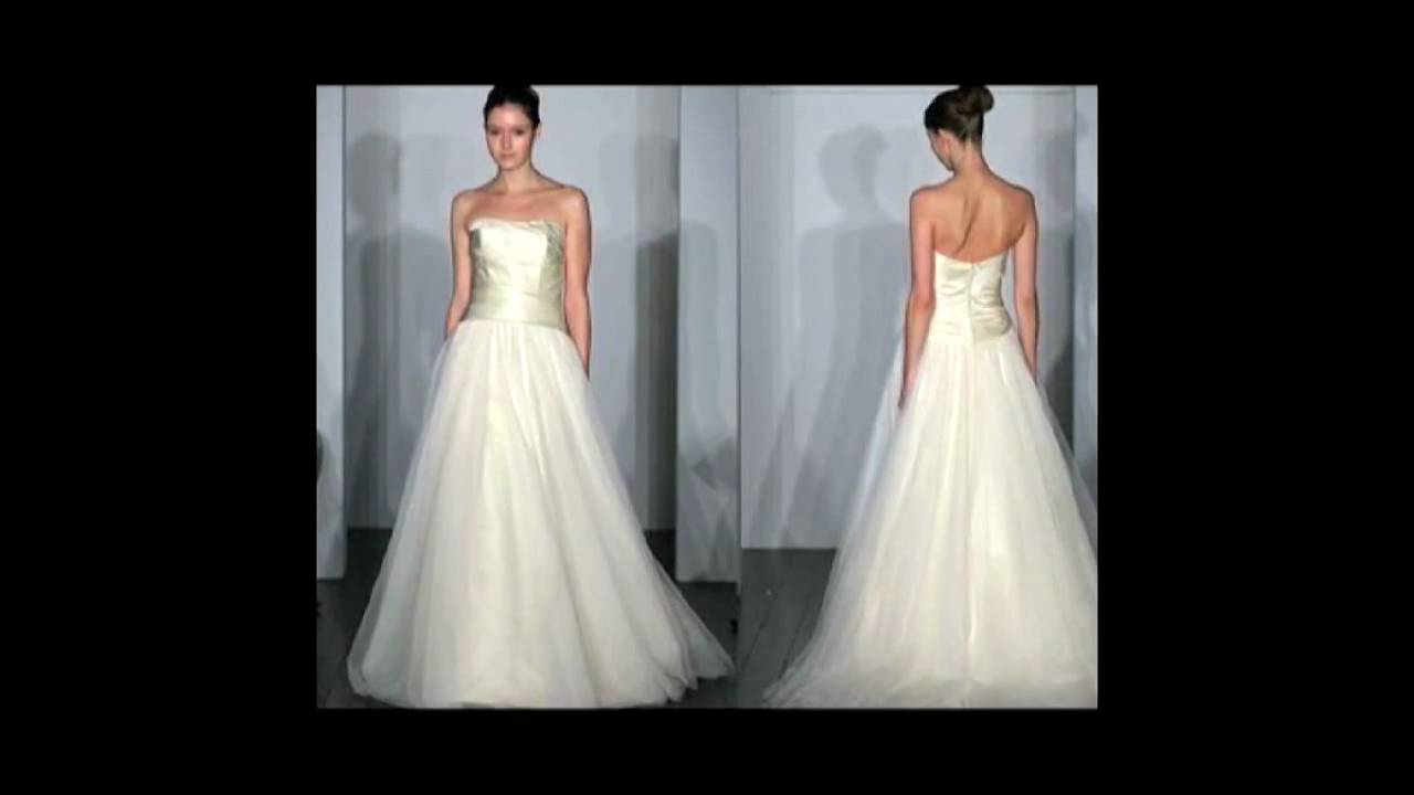 Guide to Wedding Dress Silhouettes - YouTube