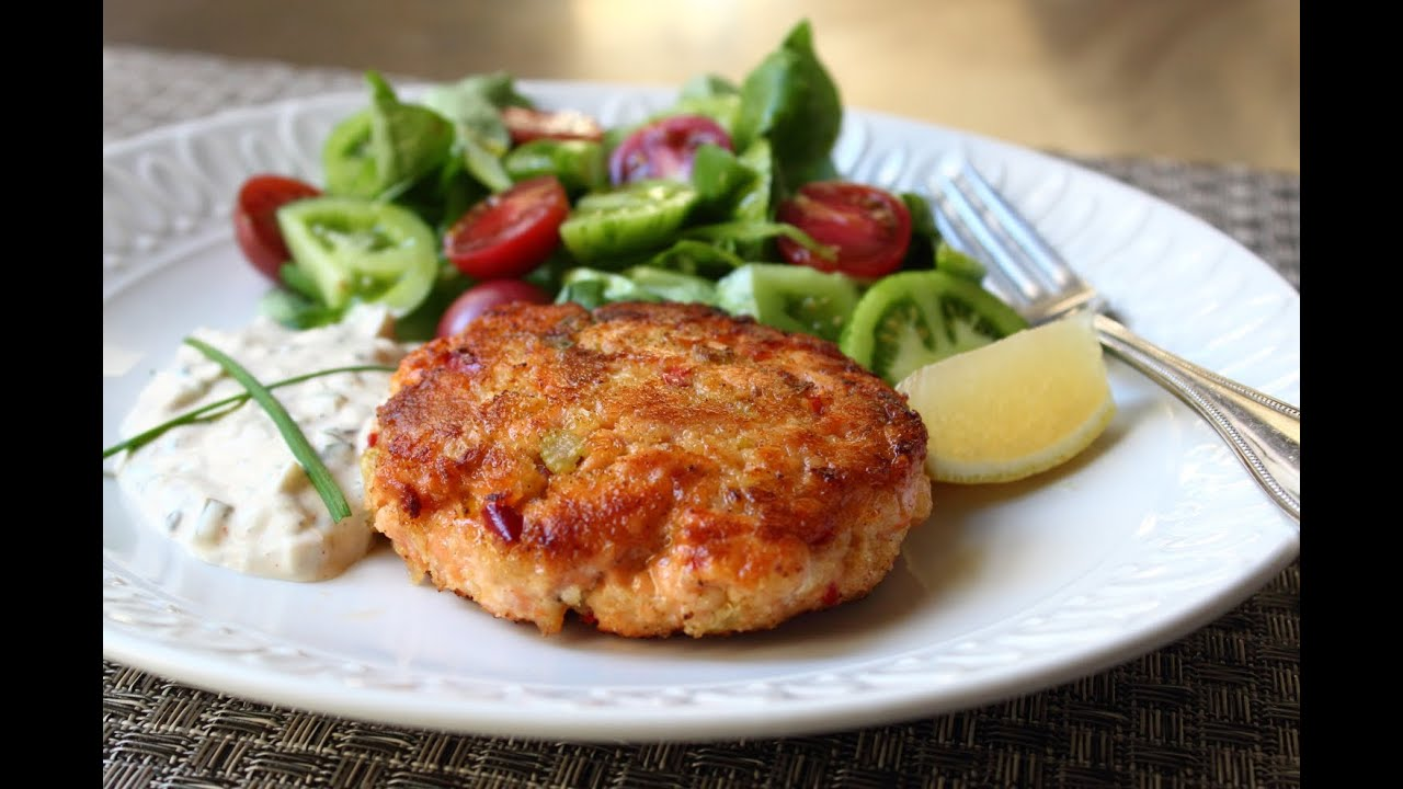 how to cook salmon patties from can