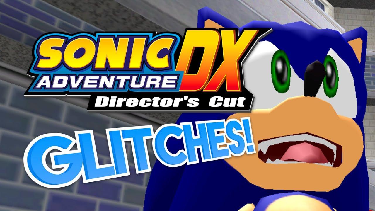 Sonic Adventure DX GLITCHES! - What A Glitch! ft  Adamnator
