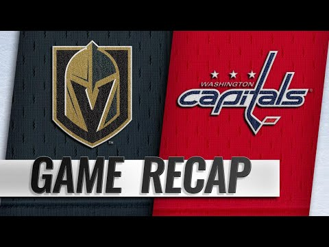 Capitals top Golden Knights in Cup Final rematch