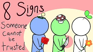 8 Signs Someone Cannot Be Trusted