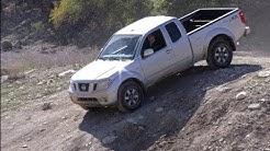 2012 Nissan Frontier & Titan PRO-4X pick-up off-road Safari review