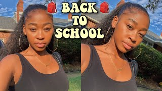 Back to school makeup routine (very easy & natural)