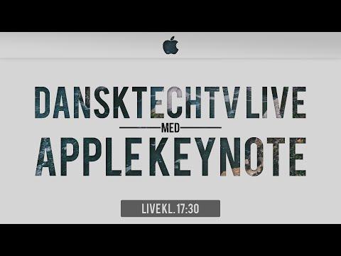 Apple Special Event. September 7, 2016 live from DanskTechTv