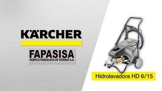 Hidrolavadora Industrial HD 6/15 - 4 Classic - Kärcher FAPASISA Paraguay